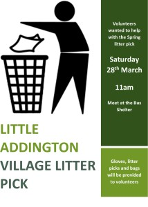 Litter Pick 28th March 2020
